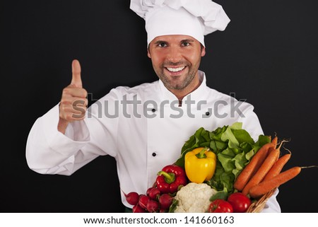Fresh vegetables are very healthy for you! - stock photo