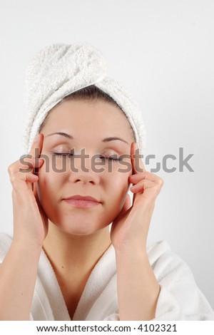 fresh woman - stock photo