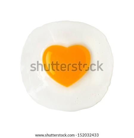Fried Egg - stock photo