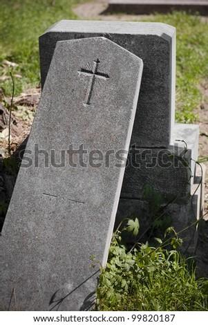 Friedhof in Ã?Â?sterreich - stock photo