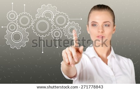 Friend. Adding Friends. Business communication. - stock photo