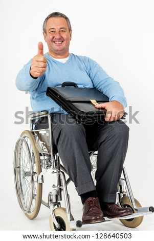 Smiling carer pushing an old man in a wheelchair stock photo image - 301 Moved Permanently