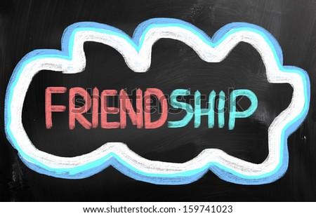 Friendship Concept - stock photo