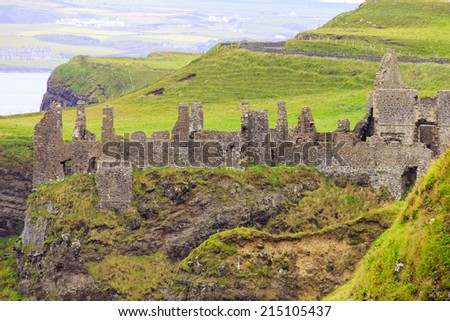 From afar - stock photo