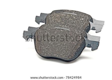 front brake pads set - stock photo