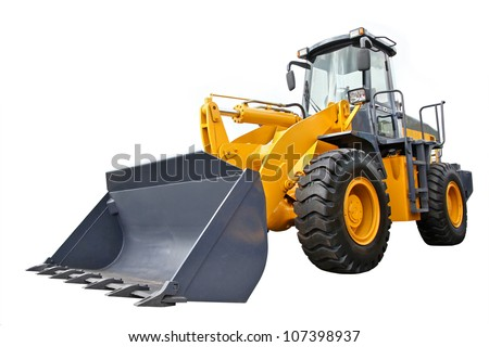 Front-end loader - stock photo