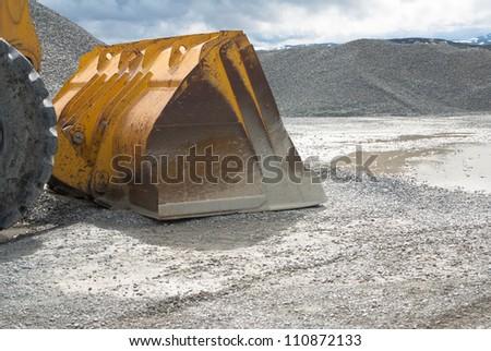 Front end loader - stock photo