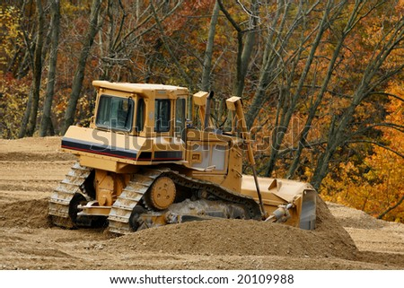Front End Mover- Construction - stock photo