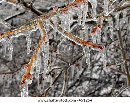 Frozen in Time - stock photo