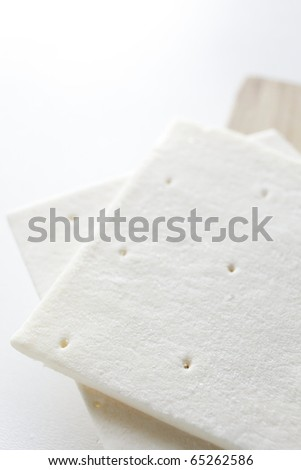 Frozen Pie dough - stock photo