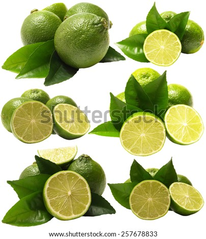 Fruit lime - stock photo