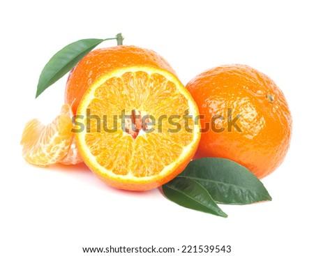 Fruit mandarin     - stock photo