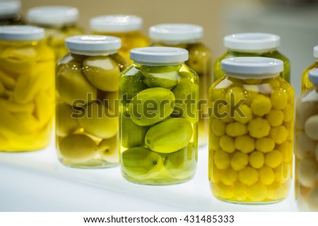Fruit preserved - stock photo