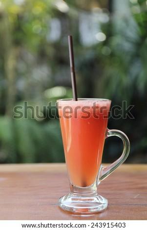 fruit punch - stock photo