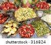 Fruit table - stock photo