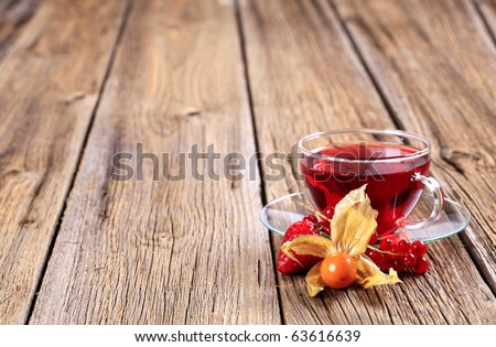Fruit tea - stock photo