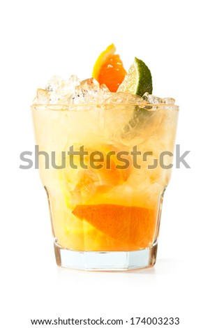Fruit Vodka - stock photo