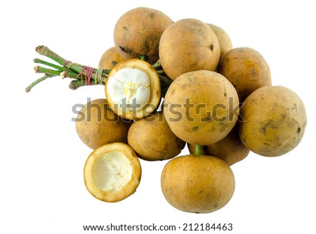 Fruits south is Thailand  - stock photo