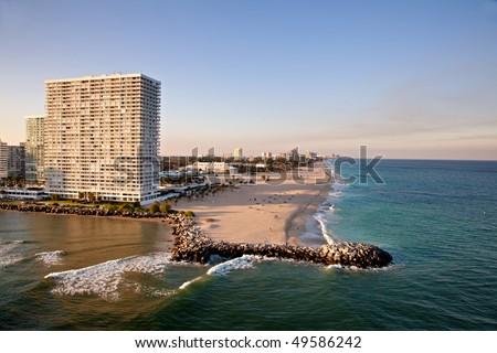 Ft Lauderdale Beach - stock photo