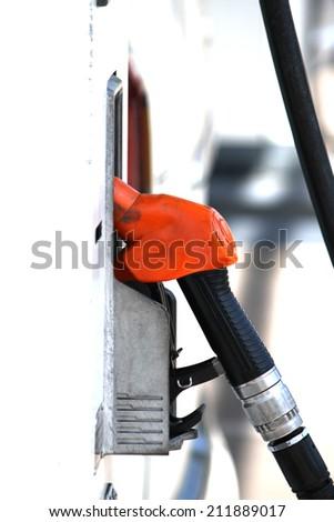 Fuel dispenser - stock photo