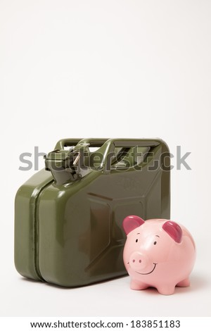 Fuel Prices - stock photo