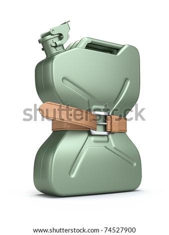 Fuel shortage - stock photo