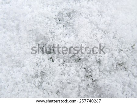 full frame closeup shot showing a frosty surface - stock photo
