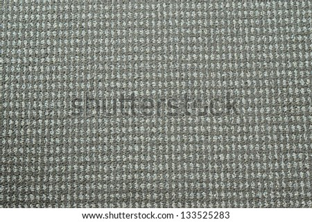 Full frame picture of pattern on grey rug - stock photo