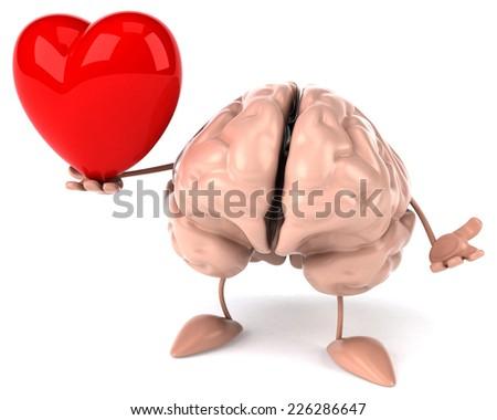 Fun brain - stock photo
