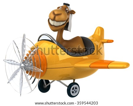 Fun camel - stock photo
