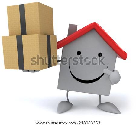 Fun house - stock photo