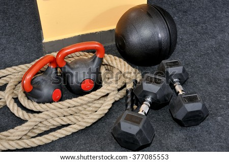 Functional - Fitness and CrossFit - stock photo