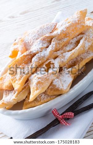 Funnel cake - stock photo