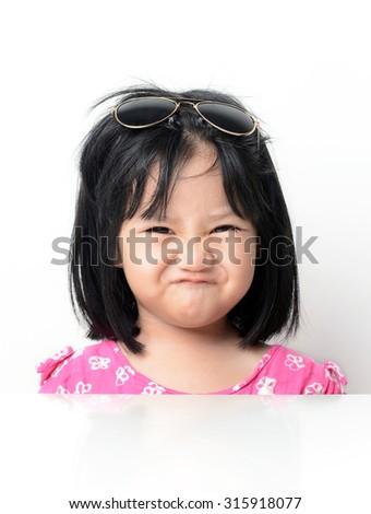 Funny face - stock photo