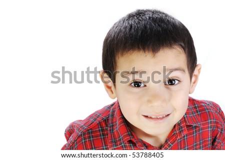 funny kid - stock photo