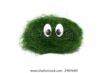 Funny little creature - stock photo