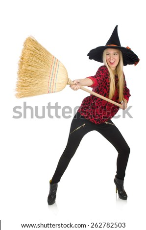 Broom Stick Stock Photos Images Amp Pictures Shutterstock