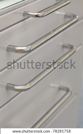 Furniture handles - stock photo