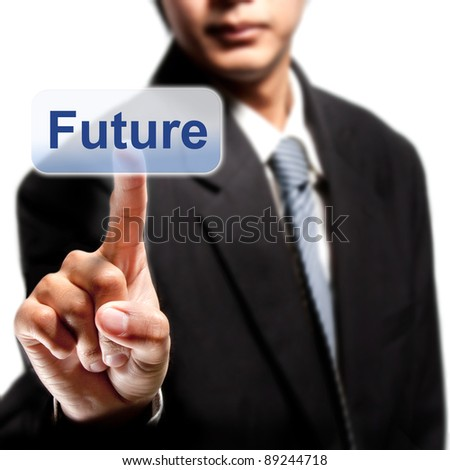 Future business - stock photo