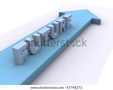 Future direction - stock photo