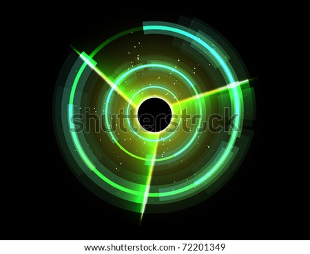 Futuristic background. Vector version available in my gallery. - stock photo