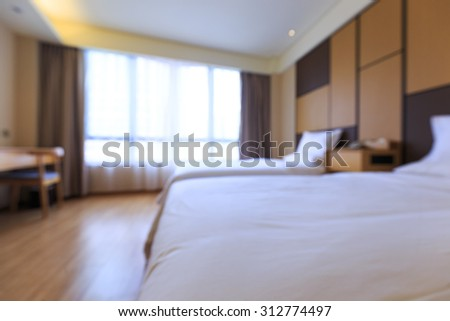 Fuzzy's bedroom - stock photo