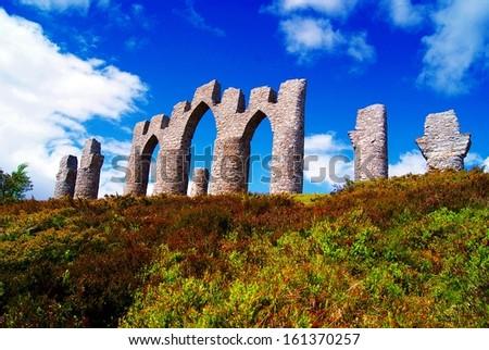 Fyrish, Alness, Scotland - stock photo