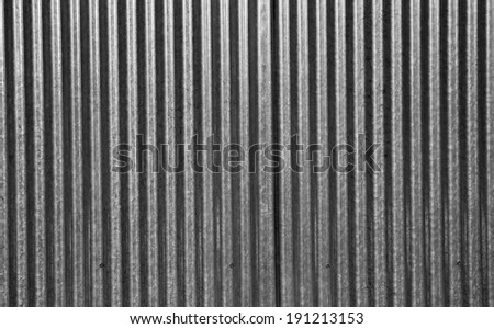Galvanized iron wall plate background /Galvanized iron wall - stock photo
