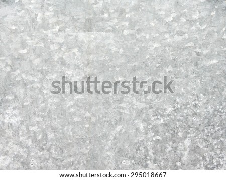 galvanized steel plate background - metallic stainless corrugated chrome texture - stock photo