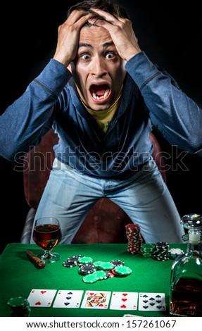 Gambler - stock photo