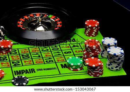 Gambling game - stock photo