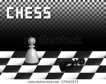 Game of chess - stock photo