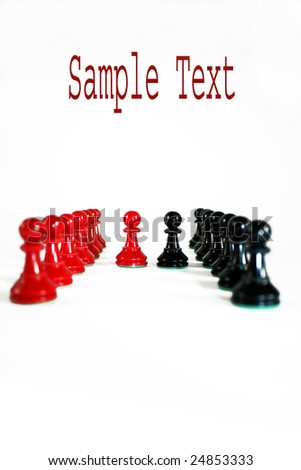 Game pieces - stock photo