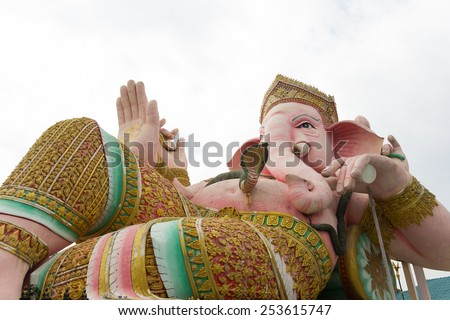 Ganesha in Thailand. - stock photo